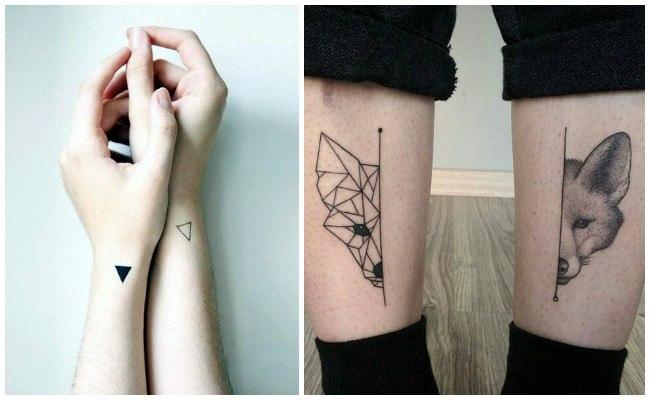 Tatuajes modernos geométricos
