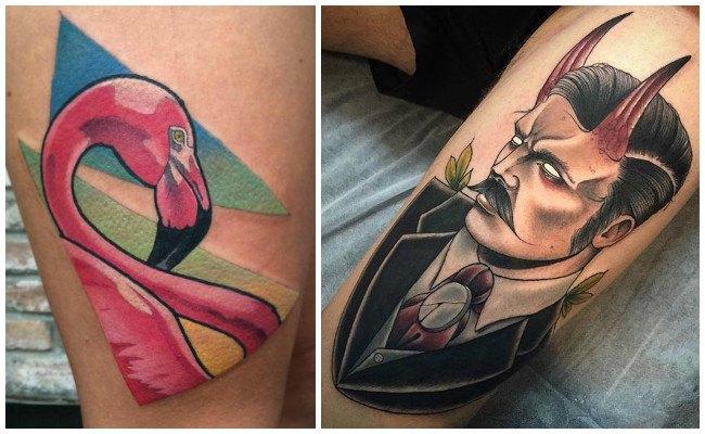 Tatuajes modernos para mujer