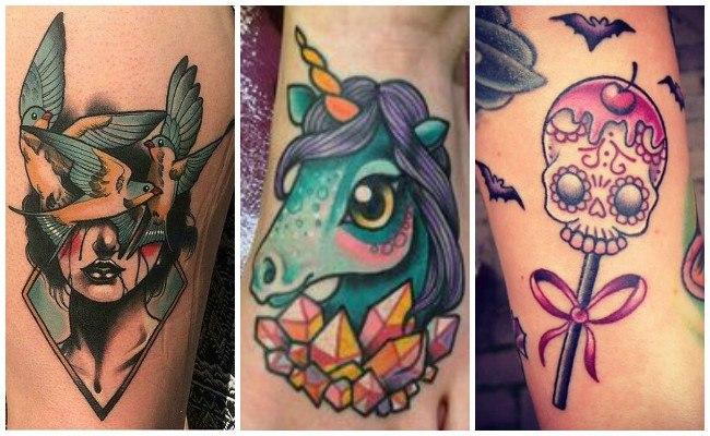 Tatuajes modernos de mujer