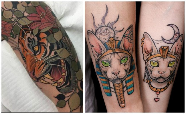 Tatuajes modernos para parejas