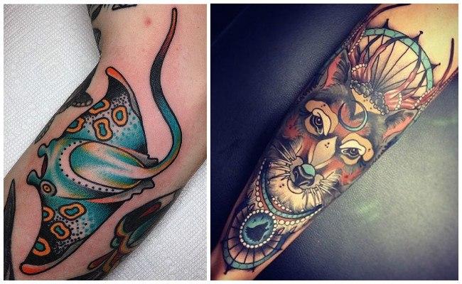 Tatuajes modernos y pequeños