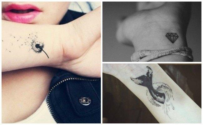 Tatuajes en la muñeca con estrellas