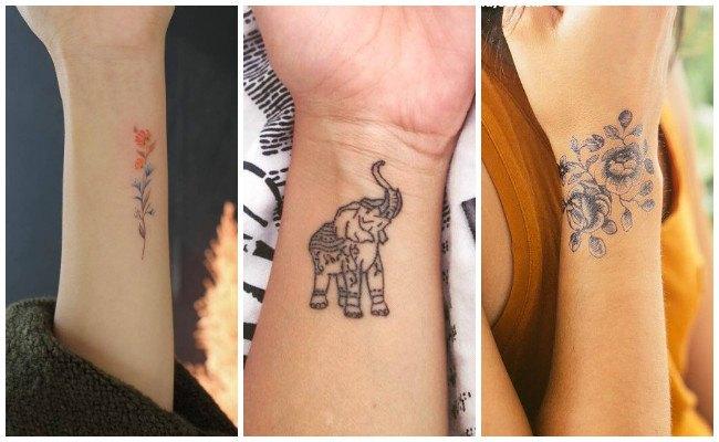 Tatuajes en la muñeca con infinito