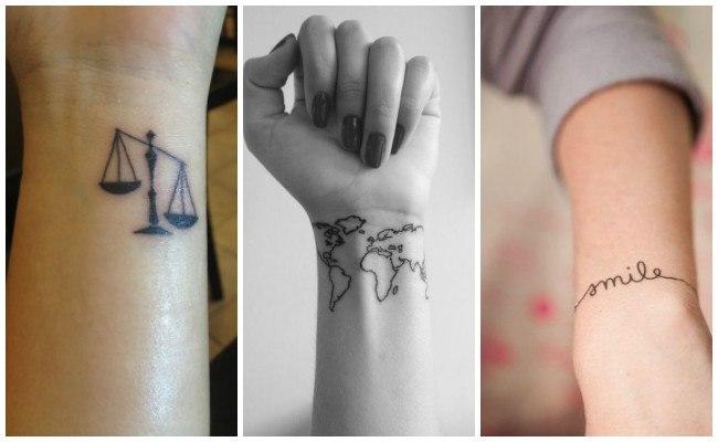 Tatuajes en la muñeca para hombre