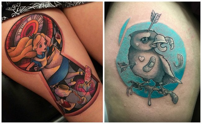 Tatuajes neo tradicional