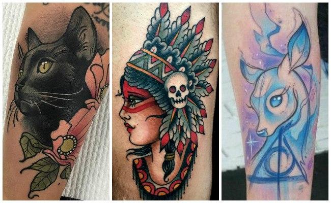 Tatuajes New School Estilo Y Disenos De Los Tatuajes Modernos