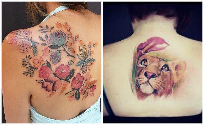 Tatuajes para mujer en la espalda