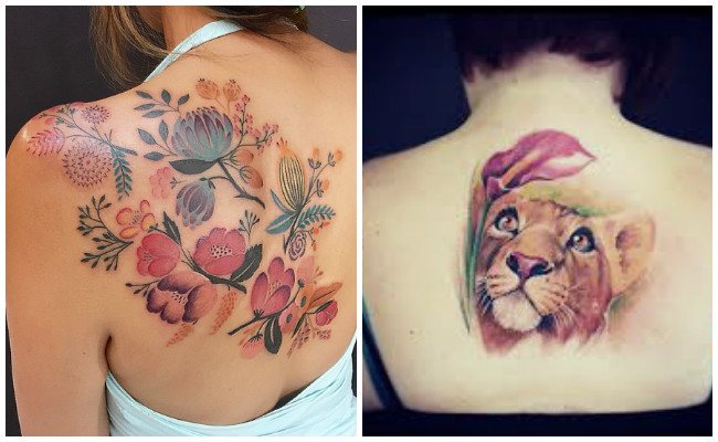 Brutales Disenos De Tatuajes En La Espalda Hombres Mujeres - Tatuaje-para-mujeres-en-la-espalda