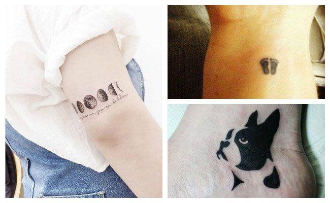 Ideas para tatuajes pequeños y minimalistas