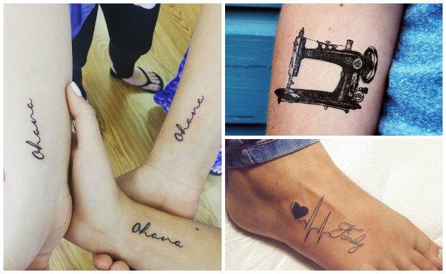 Tatuajes de pies de bebés