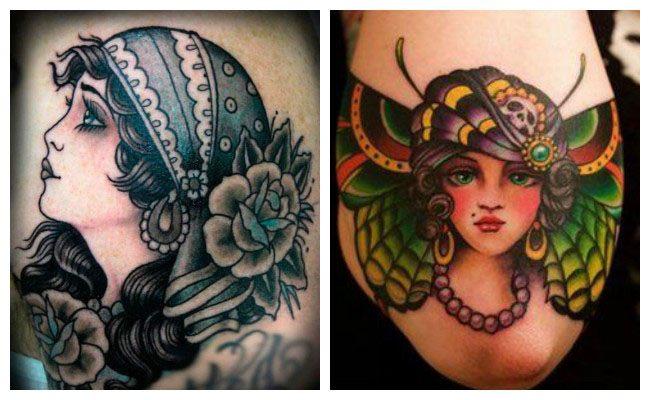 Tatuajes de pin up pequeños