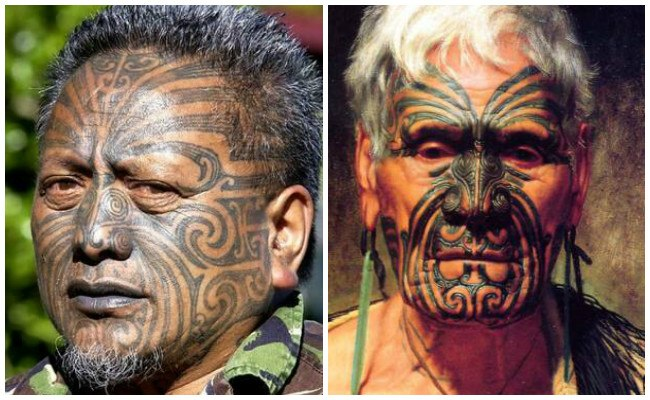Tatuajes polinesios para hombres