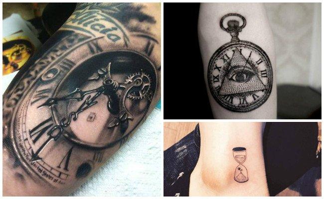 Tatuajes De Relojes Disenos Y Significados Que Paran El Tiempo
