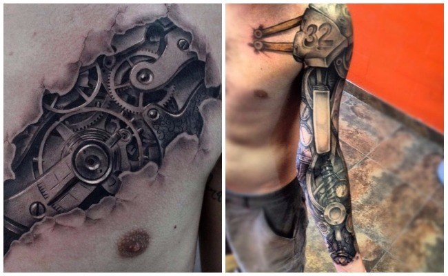 Tatuajes roboticos