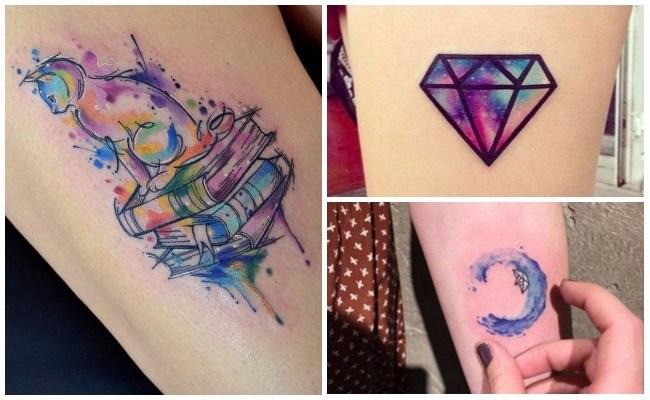 Tatuajes salpicados