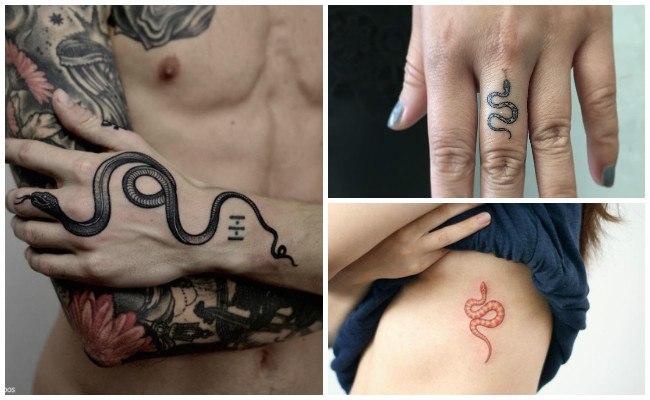 Tatuajes de serpientes para mujeres