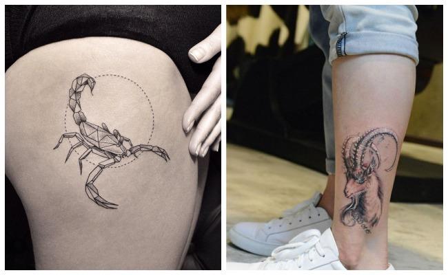Tatuajes De Los Signos Del Zodiaco Y Su Significado