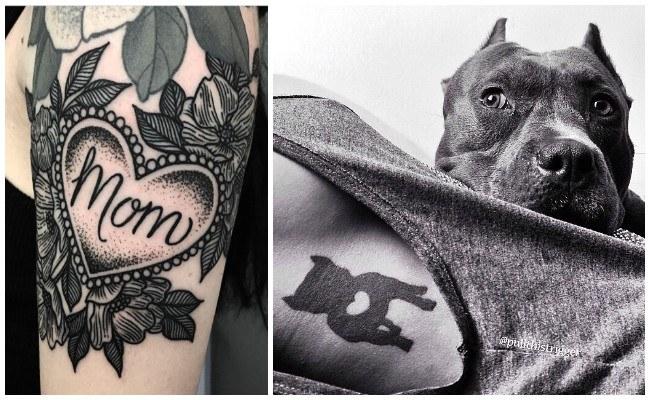 Tatuajes que simbolizan el amor de madre