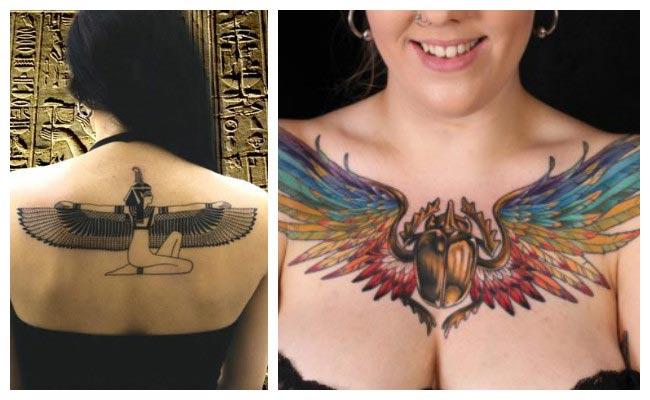 tatuajes símbolos egipcios