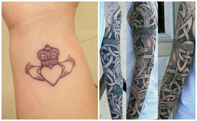 Tatuajes de soles celtas
