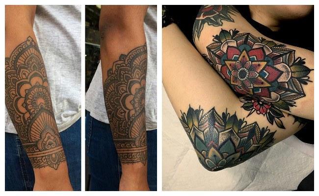 Tatuajes de tipo mandala
