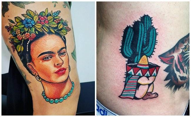 Tatuajes tradicionales mexicanos