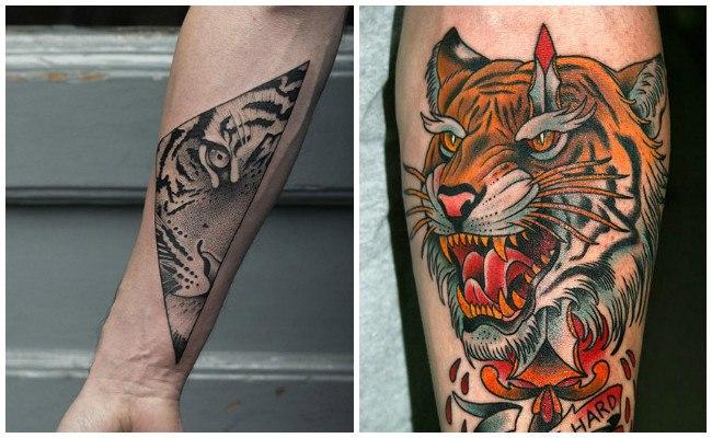 Tigre japonés tattoo