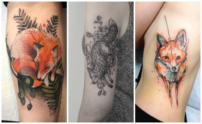 Ver fotos de tatuajes de zorros