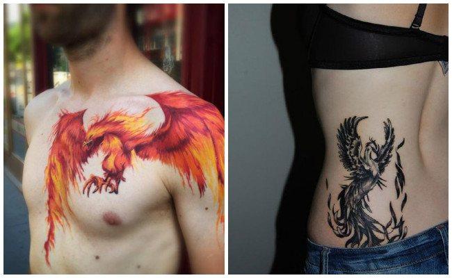 Ver tatuajes de ave fénix
