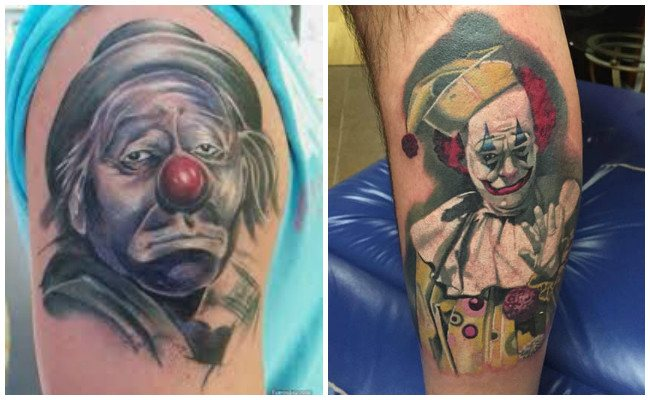 Ver tatuajes de payasos