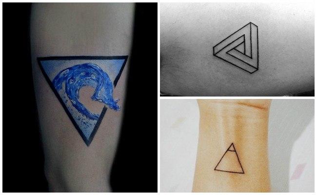 Ver tatuajes de triángulos