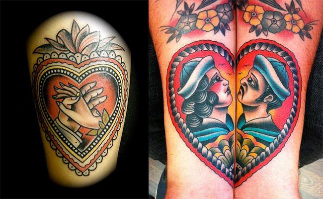 Tatuajes old school significado y dise os de los tatuajes - Tattoo disenos a color ...