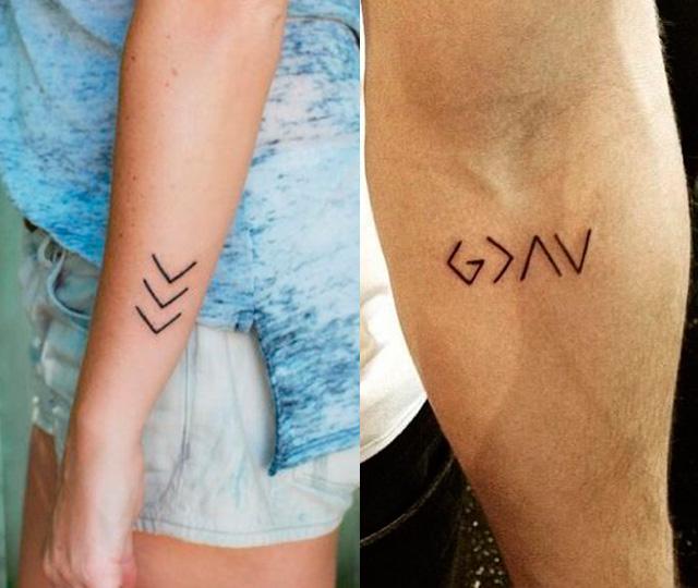 Tatuajes pequeños de lineas