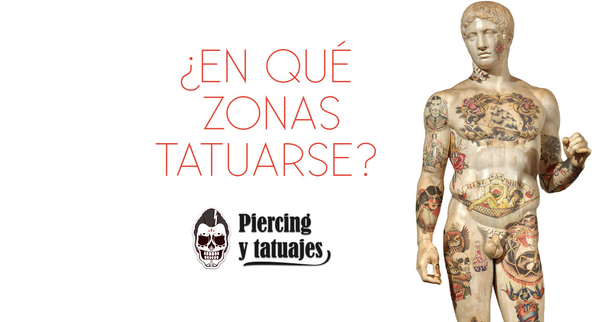 191 Cu 225 Les Son Las Mejores Zonas Del Cuerpo Para Tatuarse
