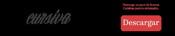 Letras cursiva para tatuajes