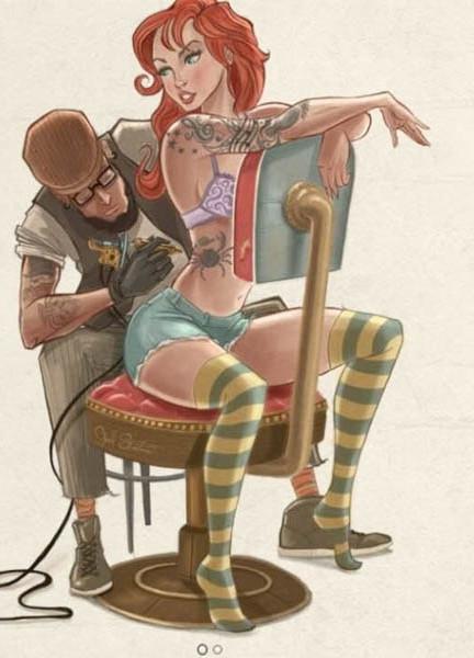 ariel-tatuada