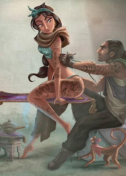 jasmine-tatuada
