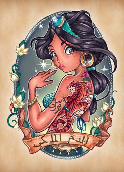 princesas-disney-tatuadas-jasmine