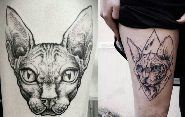 Tatuajes de gatos, imágenes y diseños que te encantarán