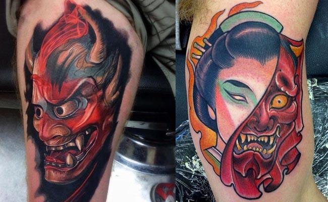 fotos-tatuajes-de-mascara-hannya-japonesa