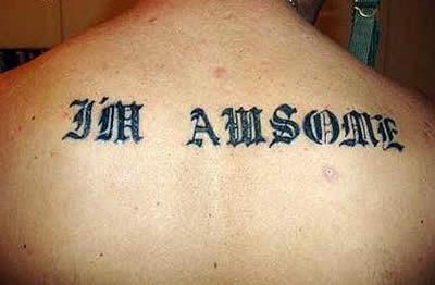Tatuajes en inglés mal escritos