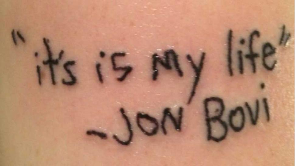 Tatuajes mal escritos
