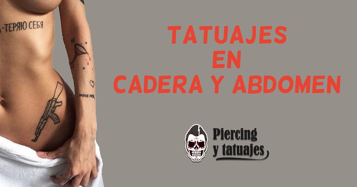 Tatuajes en la cadera. el abdomen y el vientre, grandes posibilidades
