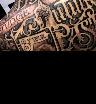 Fotos de tatuajes de letras