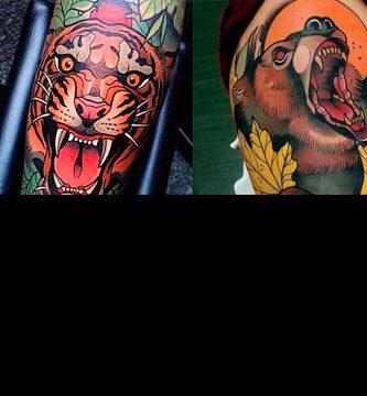 Imágenes de tatuajes de animales