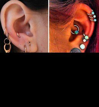 Piercing en la oreja
