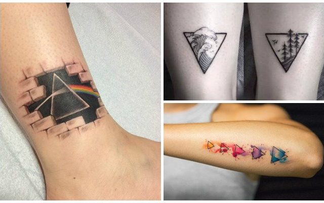 Tatuajes De Triángulos Su Significado Real Y Los Mejores Diseños
