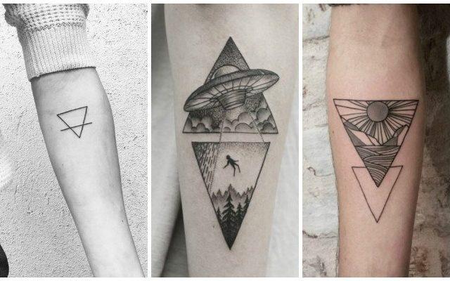 Tatuajes De Triangulos Su Significado Real Y Los Mejores Disenos