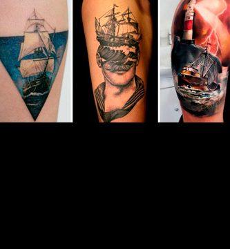Tatuajes de barcos y marineros