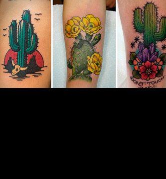 Tatuajes de cáctus